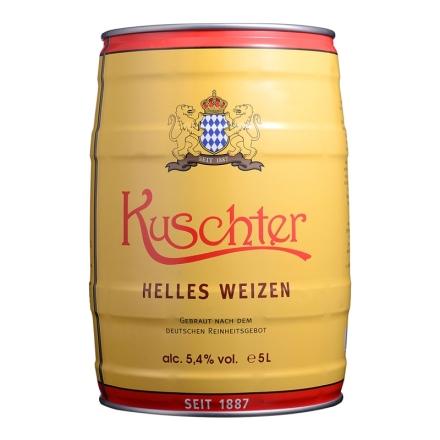 德国库斯特原浆特酿小麦白啤酒5L